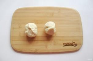 Пирожки с конфетами - фото шаг 8