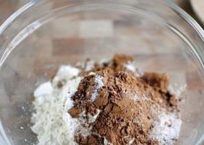 Шоколадные пирожные с орехами пекан - фото шаг 1