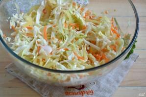 Маринованная капуста с овощами - фото шаг 9