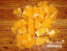 Салат из индейки с апельсинами - фото шаг 2