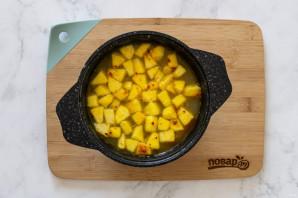 Суп из маша с яблоком