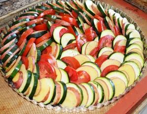 Кабачки, запеченные с картошкой - фото шаг 2