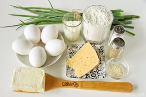 Открытый пирог с яйцом - фото шаг 1