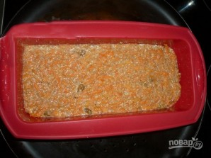 Морковный кекс с отрубями - фото шаг 5