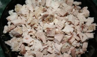 Жульен со свининой и грибами - фото шаг 4
