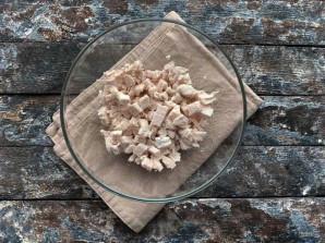 Салат из стручковой фасоли с мясом - фото шаг 2