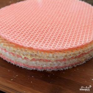Украинский вафельный торт - фото шаг 6
