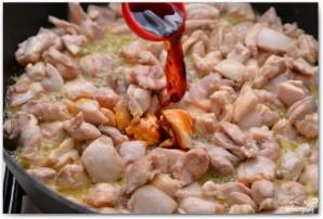 Паста с курицей и медом - фото шаг 4