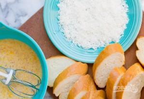 Французские тосты с кокосом - фото шаг 1