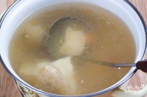 Суп из плавленых сырков с грибами - фото шаг 1