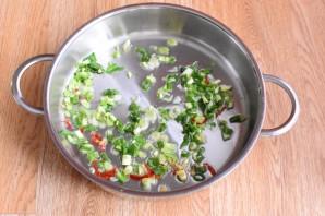 Рис с томатной пастой - фото шаг 2