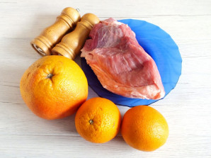 Шашлык из свинины в цитрусовом маринаде - фото шаг 1