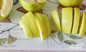 Творожное печенье с яблоками - фото шаг 3