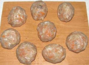 Рыбные тефтели в томатном соусе - фото шаг 4