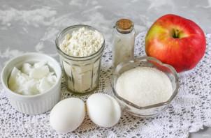 Песочное печенье с яблоками - фото шаг 1