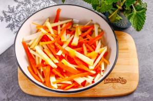 Салат из тыквы - фото шаг 6