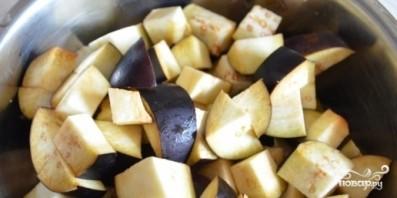 Баклажаны с чесноком соленые - фото шаг 1