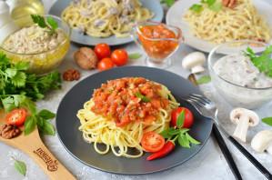 Соусы к спагетти