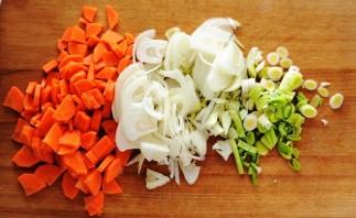 Чечевичный суп с курицей  - фото шаг 2