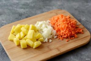 Чечевичный суп с квашеной капустой - фото шаг 2