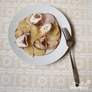 Конгрио с картофелем - фото шаг 4