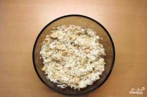 Пирожки с сайрой и рисом - фото шаг 9
