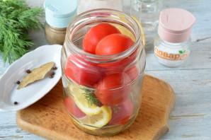 Маринованные помидоры с лимоном на зиму - фото шаг 4