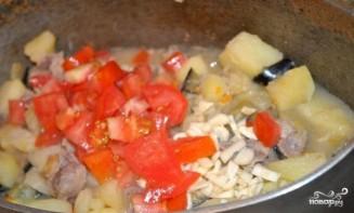 Картофель с мясом и овощами - фото шаг 16