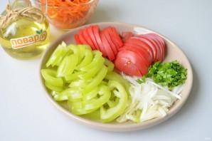 Салат с баклажанами и морковью по-корейски - фото шаг 3