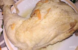 Тушеные куриные окорочка с овощами - фото шаг 5