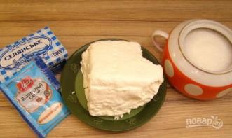 Простой крем для пирога - фото шаг 1