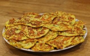 Блинчики из кабачков с сыром - фото шаг 6