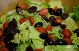 Салат из грудок - фото шаг 3