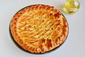 Пирог с мойвой и укропом - фото шаг 10