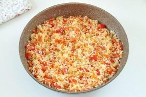 Рис с горохом и сладким перцем - фото шаг 4