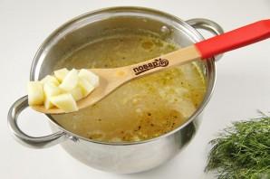 Куриный суп с яблоками - фото шаг 8