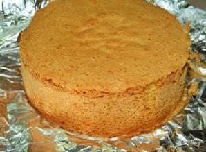 Ванильный бисквит на майонезе - фото шаг 5
