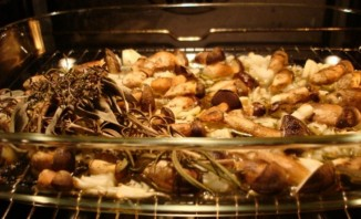 Подберезовики в духовке - фото шаг 3