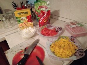 "Лучший рецепт макарон по-флотски с овощами и кетчупом ""Махеевъ"" - фото шаг 2"