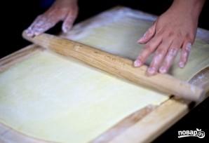 Слоеное тесто на самсу - фото шаг 10