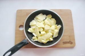 Яблочный пирог с мороженым - фото шаг 2