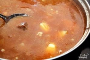 Суп из говядины с тмином - фото шаг 7