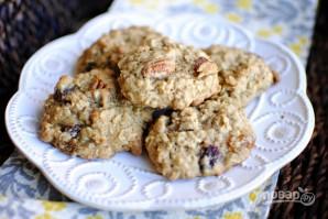 Простое овсяное печенье - фото шаг 6