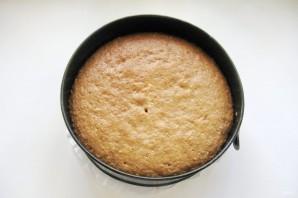 Ореховый пирог с меренгой - фото шаг 11