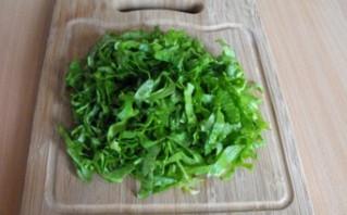 Простой салат с сыром - фото шаг 3