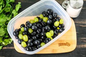 Моченый виноград с горчицей - фото шаг 2