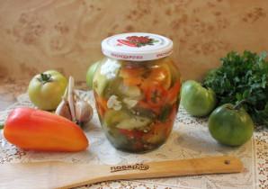 Салат из зеленых помидоров по-грузински - фото шаг 10