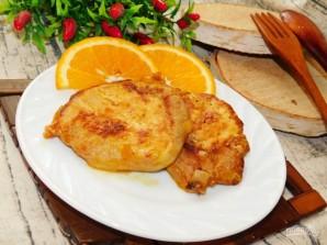 Свинина в горчично-имбирном маринаде с апельсинами - фото шаг 5