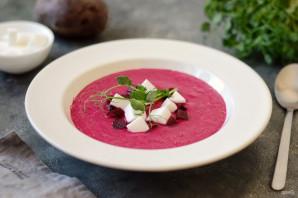 Свекольный крем-суп с фетой - фото шаг 7