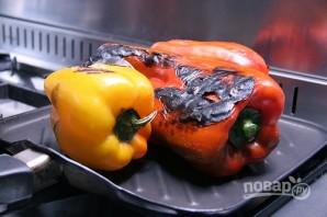 Салат из запеченного перца - фото шаг 2